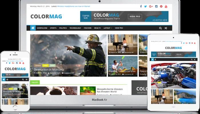 Wordpress Colormag temasıyla sitenizi yapabilirim
