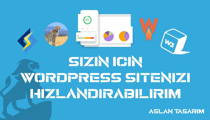 WordPress sitenizi hızlandırabilirim  SSL sertifikası hediye