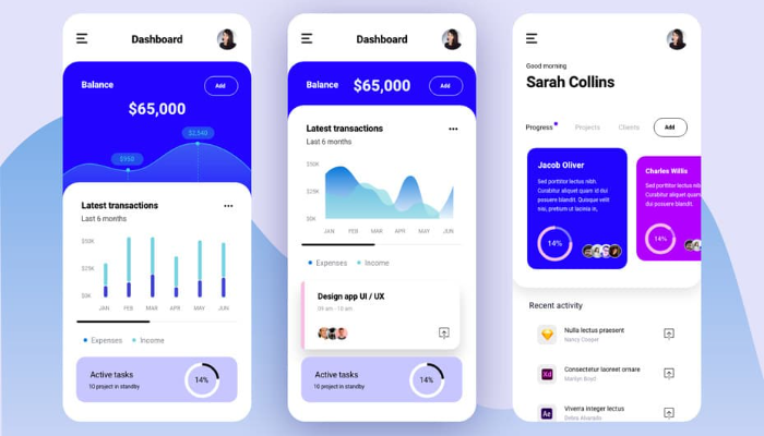 Ben sizler için mobil kullanıcı arayüzü tasarlarım.