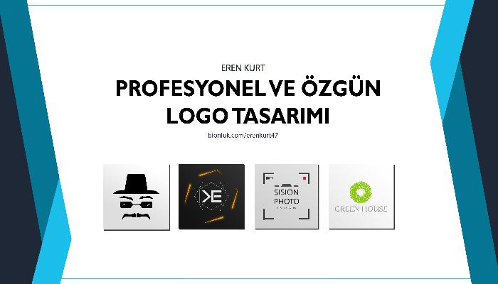 Ben, size özgün profesyonel logo tasarımı yapabilirim