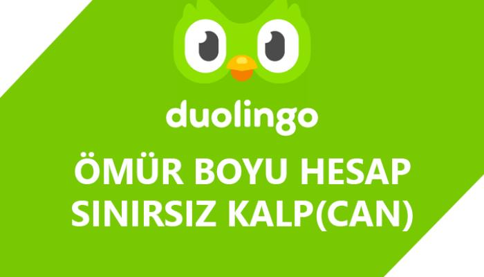 Süresiz Duolingo hesabı oluşturabilirim