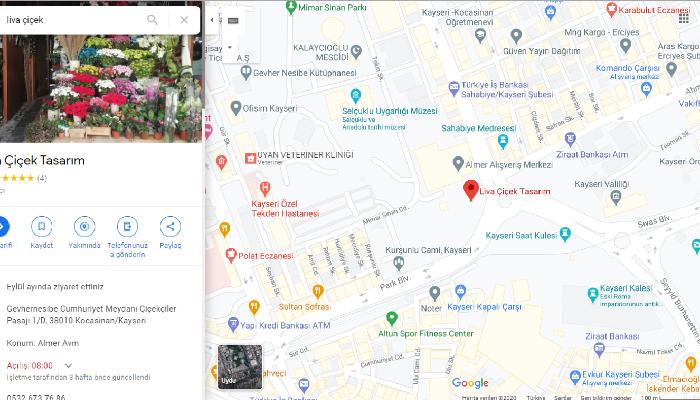 Ben, Işletmenizi google haritalar ve işletmeme ekleyebilirim