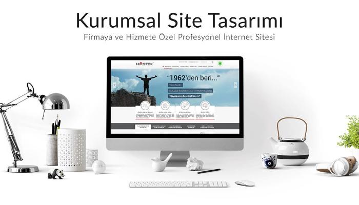 Mobil uyumlu admin panelli web sitesi