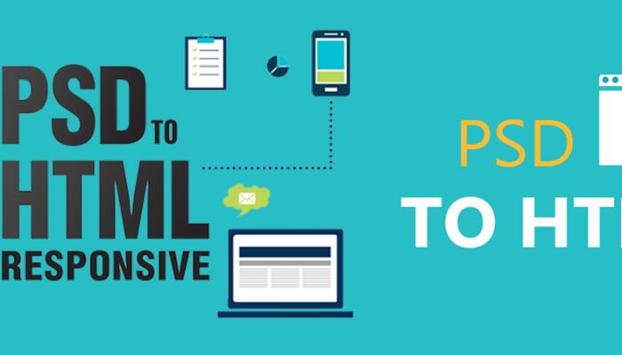 PSD to HTML Olarak Full Responsive  Web Site Tasarımı Yaparım