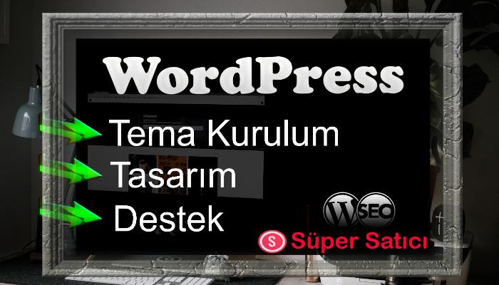 Ben, wordpress tema kurulum,tasarım ve destek hizmeti sunarım
