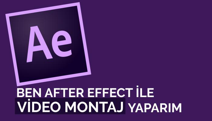 Ben sizin için After effect ile videolarınızı yaparım