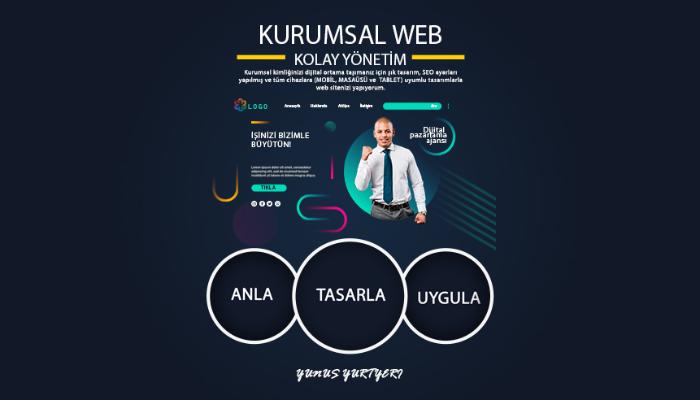 Kurumsal Web Sitesi, Blog, Portfolyo, Ürün Tanıtım